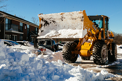 Snow Plowing Service Medfield MA